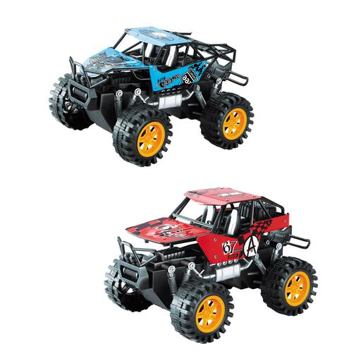 EZ Drive - Pack 2 Todoterrenos Monster Rock Crawler