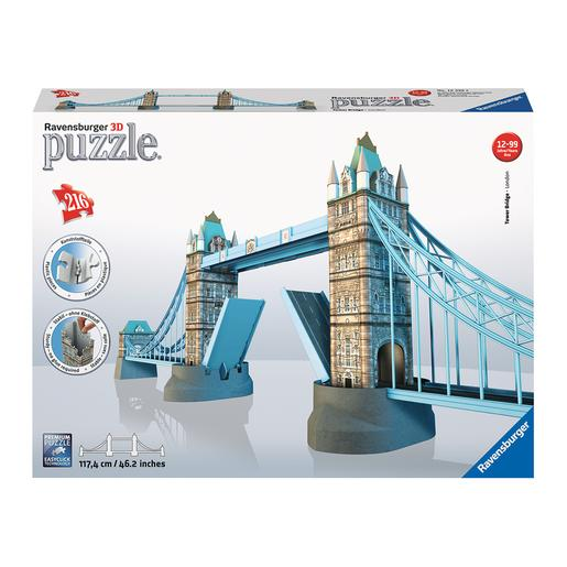 Ravensburger - Tower Bridge - Puzzle 3D 216 Piezas