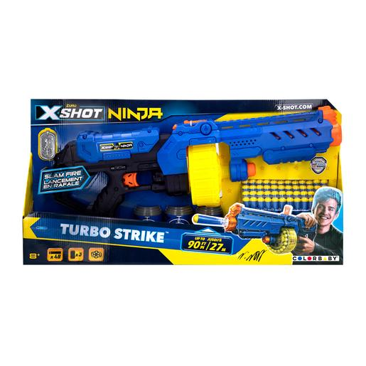 X-Shot Excel Ninja - Rifle de Juguete Turbo Strike