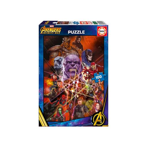 Educa Borras - Avengers Infinity War - Puzzle 100 Piezas
