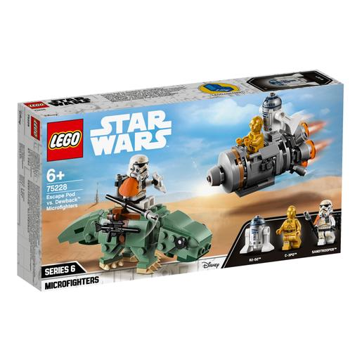 LEGO Star Wars - Microfighters Cápsula de Escape vs Dewback - 75228