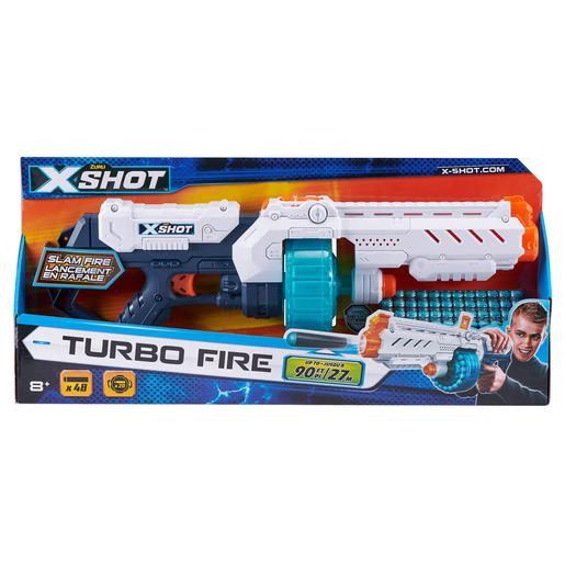 X-Shot - Turbo Fire con 48 Dardos