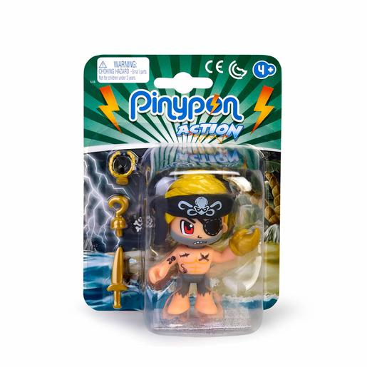 Pinypon - Pirata Rubio - Figura Pinypon Action