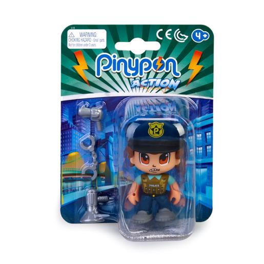 Pinypon - Boss - Figura Policía Especialista Pinypon Action