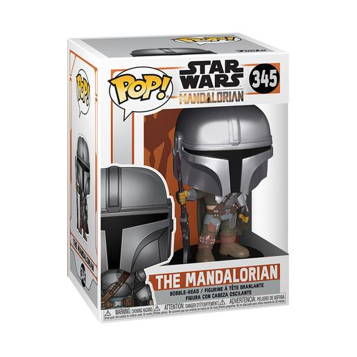 Star Wars - The Mandalorian Renovado - Figura Funko POP