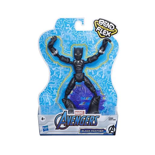 Los Vengadores - Figura Bend and Flex Black Panther 15 cm