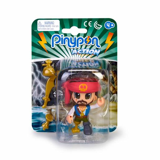 Pinypon - Pirata Pelo Negro - Figura Pinypon Action