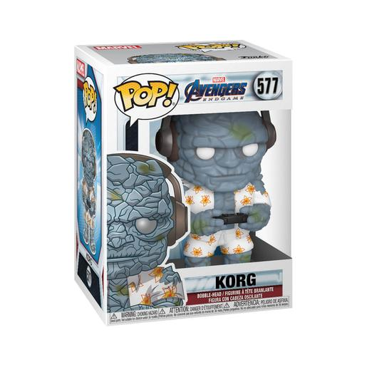 Los Vengadores - Korg Bobble-Head Endgame Gamer - Figura Funko POP