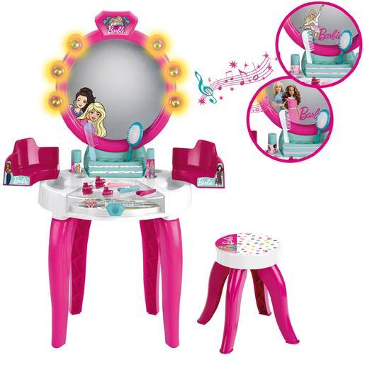 ToysRus|Barbie - Salón de Belleza con Luz y Sonido