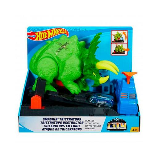 Hot Wheels - Ataque del Triceratops