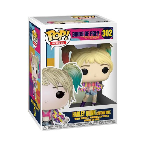 Aves de Presa - Harley Quinn Caution Tape - Figura Funko POP