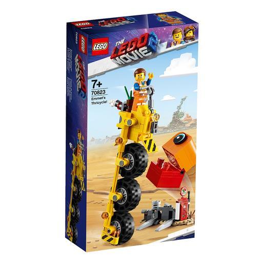 LEGO La Película 2 - Triciclo de Emmet - 70823