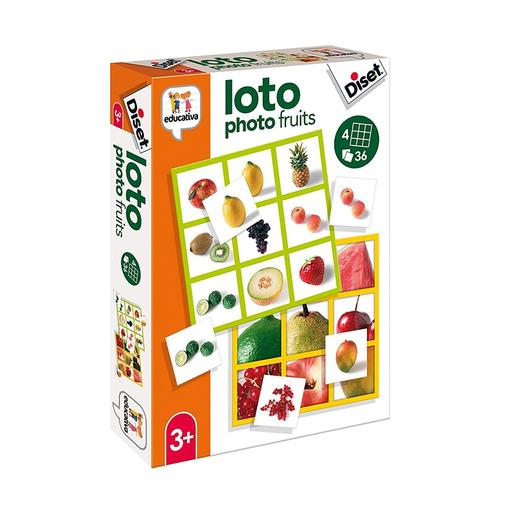 Diset - Loto Photo Fruits