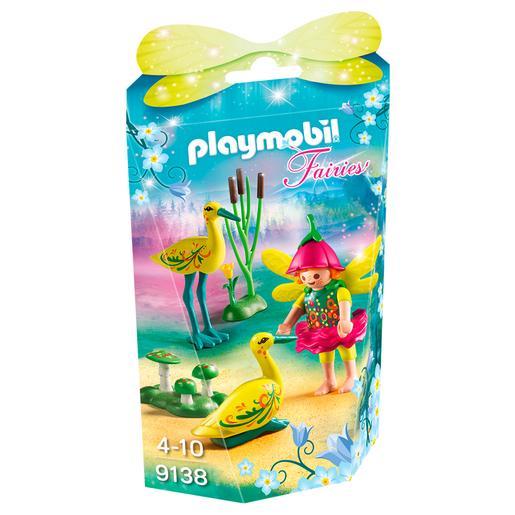 Playmobil - Niña Hada Con Cigüeñas - 9138