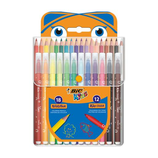 Set de coloreado Bic Kids 30 piezas