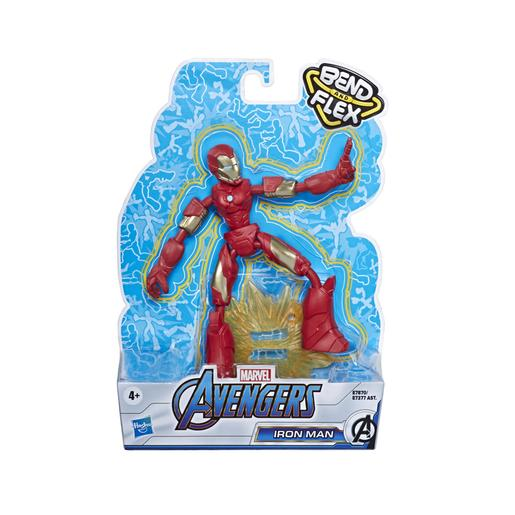 Los Vengadores - Figura Bend and Flex Iron Man 15 cm