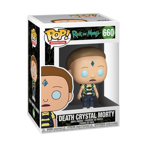 Rick y Morty - Death Crystal Morty - Figura Funko POP
