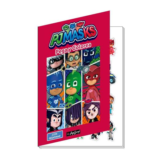 PJ Masks - Coleccionable Coloreable