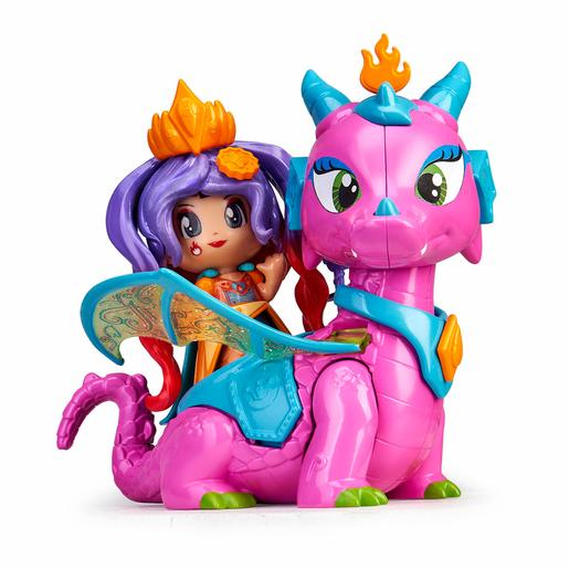 Pinypon - Reina y Dragón - Figuras Queens Dragon