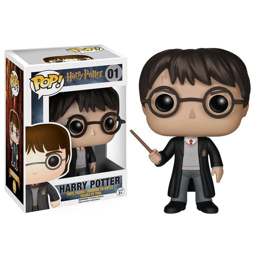 Harry Potter con Uniforme de Hogwarts - Figura Funko POP