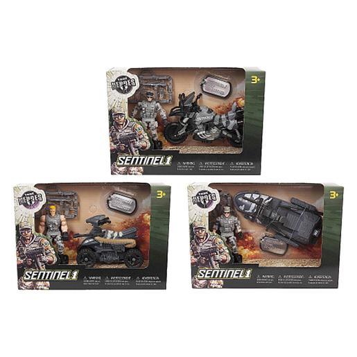 True Heroes - Militar + Vehículo (varios modelos)