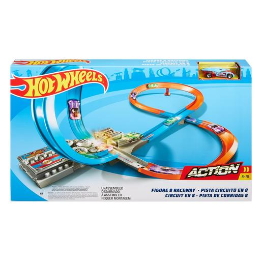 Hot Wheels - Pista de Coches en 8