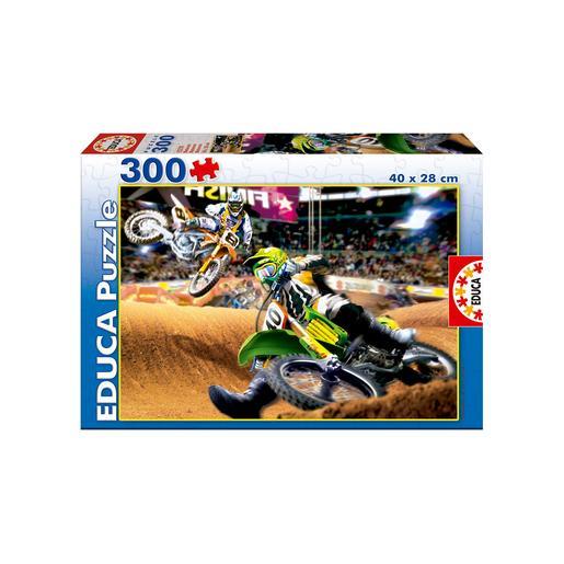 Educa Borras - Motocross - Puzzle 300 Piezas