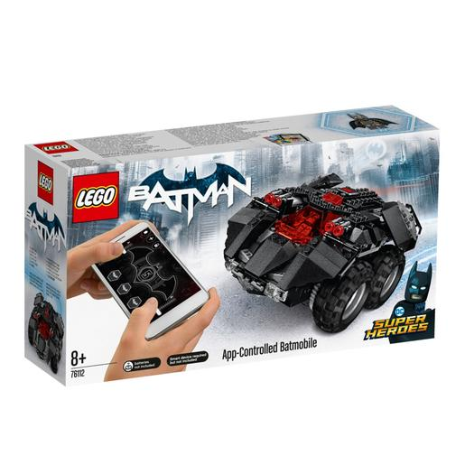 LEGO Súper Héroes - Batmóvil Controlado por App - 76112