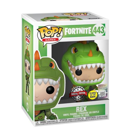 Fortnite - Rex Glow in The Dark - Figura Funko POP