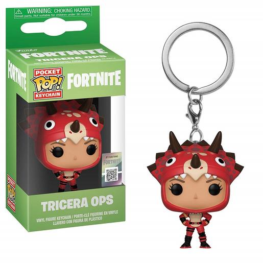 Fortnite - Tricera Ops - Llavero POP Pocket