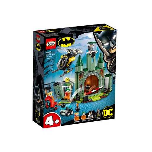 LEGO Superhéroes - Batman y la Huida del Joker 76138