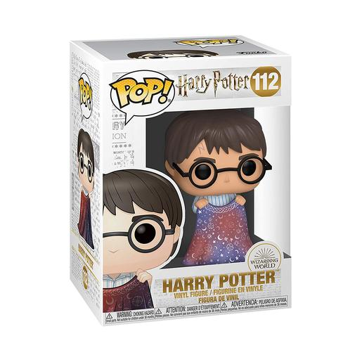 Harry Potter - Harry con Capa de Invisibilidad - Figura Funko POP