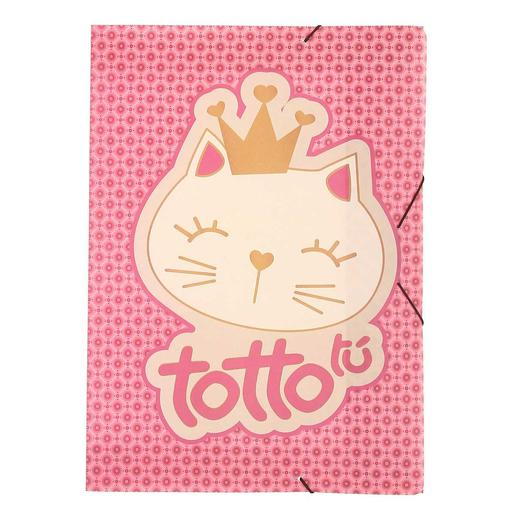 Totto - Kit Escolar Gato - Carpeta Sencilla