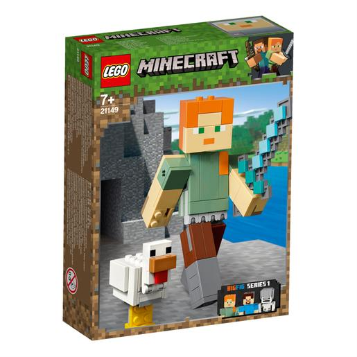 LEGO Minecraft - BigFig: Alex con Gallina - 21149