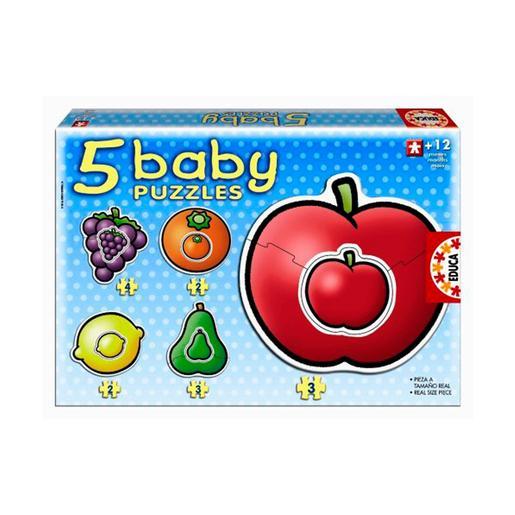 Educa Borrás - Frutas - Baby Puzzle