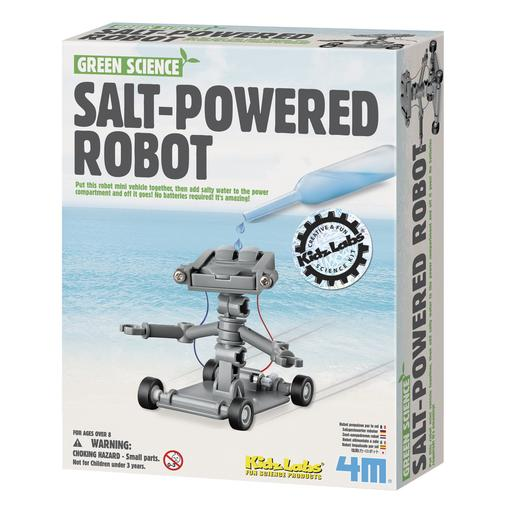 Green Science - Robot Energizado con Sal