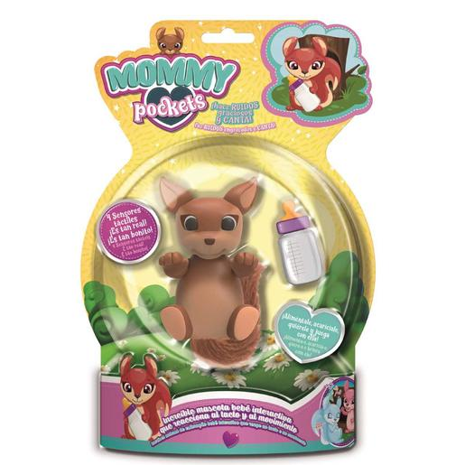 Mommy Pockets - Mascota Interactiva (varios colores)