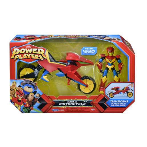 Power Players - Moto de Axel y Figura