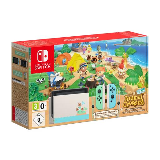 Nintendo Switch - Nintendo Switch Edición Animal Crossing: New Horizons