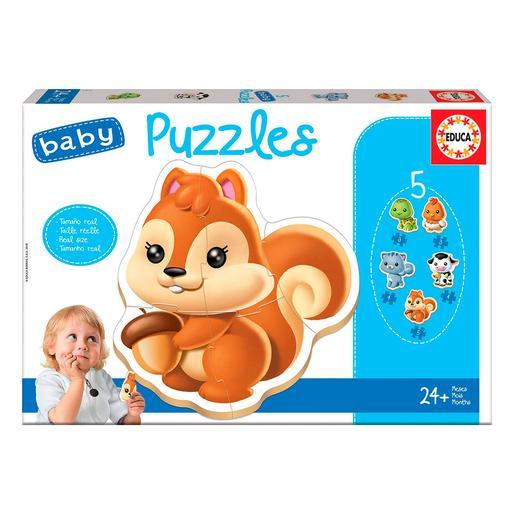Educa Borrás - Animales - Baby Puzzle