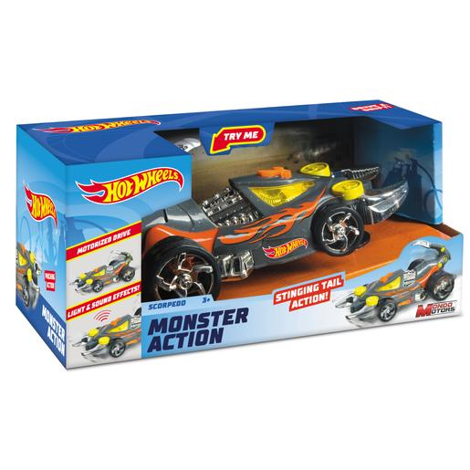 Hot Wheels - Monster Action Scorpedo Luces y Sonidos