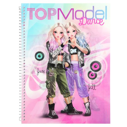 Top Model - Cuaderno para Colorear Dance