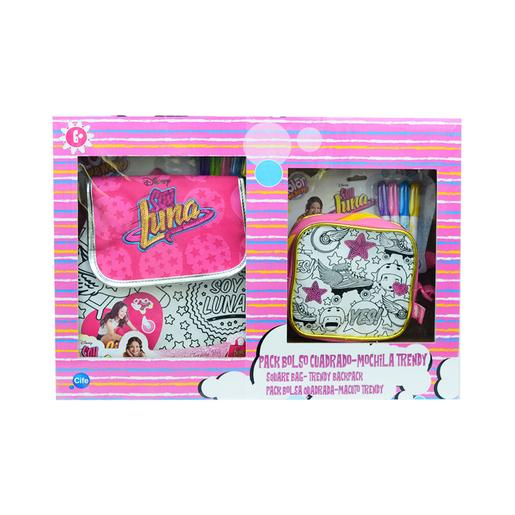Color Me Mine - Soy Luna - Pack Mochila y Bolso