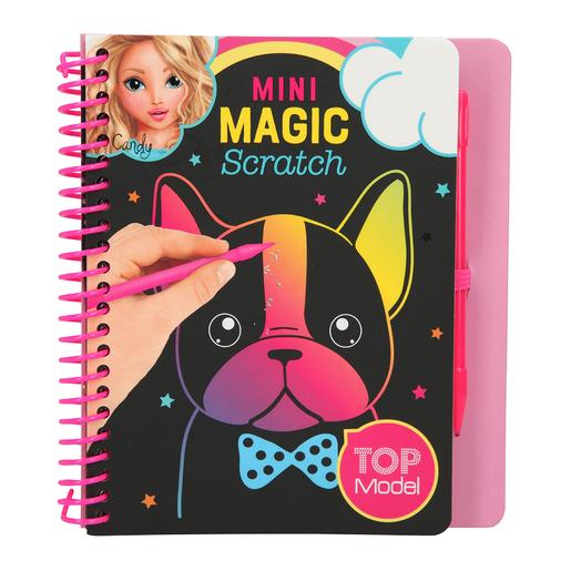 Top Model - Minicuaderno Magic Scratch Perro