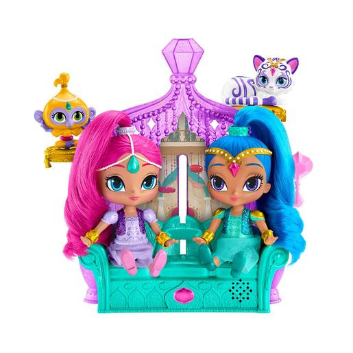 Fisher Price - Shimmer y Shine - Trono Sorpresas Mágicas