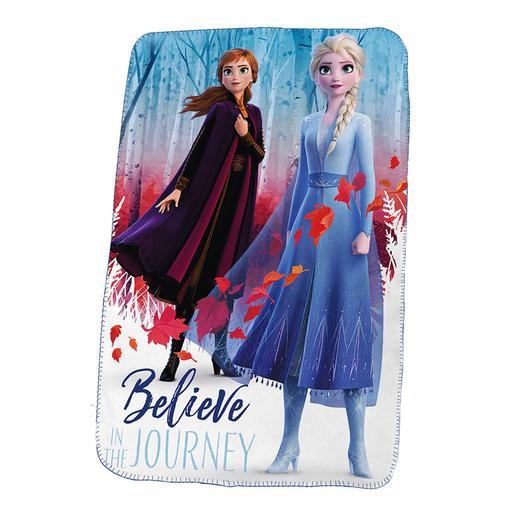 Frozen - Manta Polar Elsa y Anna Frozen 2