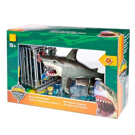 Ataca Tiburón Zone Set Animal Animal Y6gyfb7