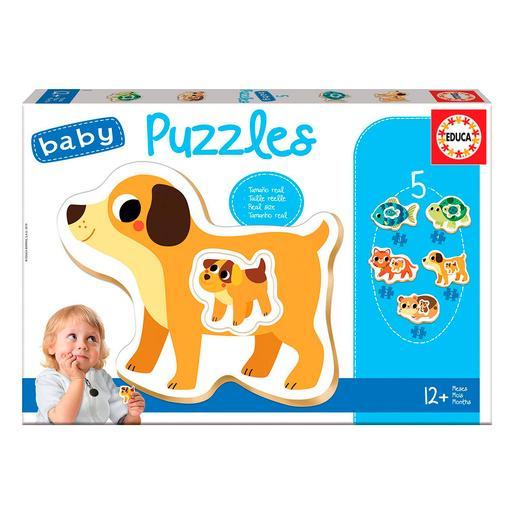 Educa Borrás - Animales Domesticos - Baby Puzzle