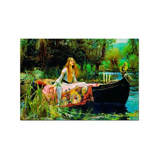 Educa Borrás - Puzzle 1500 Piezas - La Dama de Shalott, John William Waterhouse