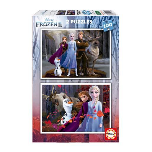 Educa Borrás - Frozen - Pack Puzzles 2x100 piezas Frozen 2